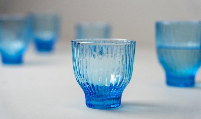 blauw glas klein