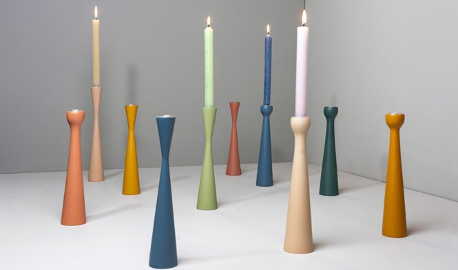 candle holders process