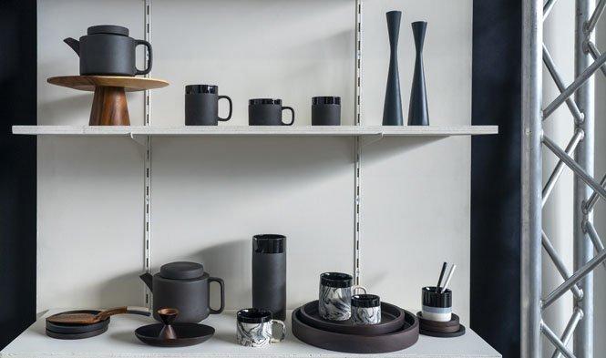 stoneware black handmade Vietnam