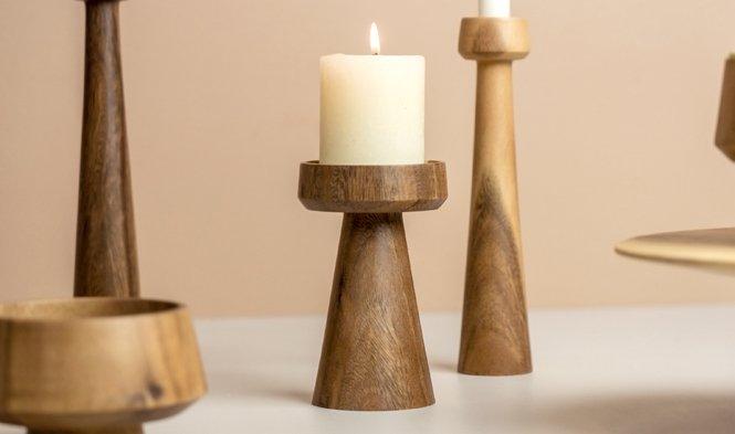 stompkaars hout design mushroom