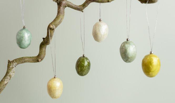 paasdecoratie eieren kleuren trend