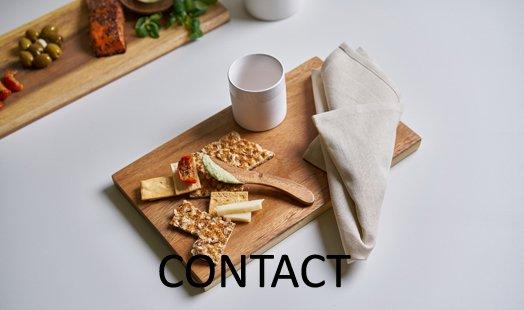 handige eetplank hout