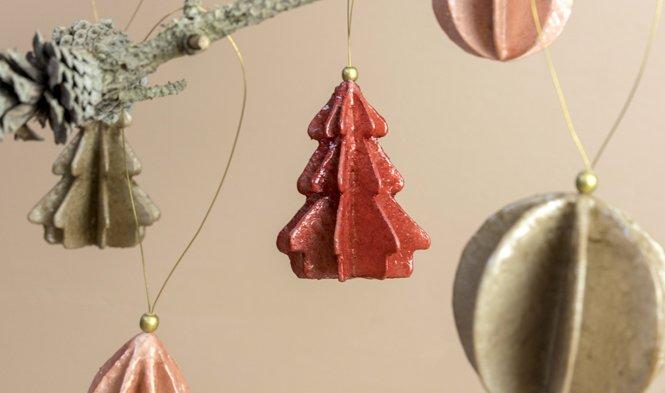 hanger in vorm van kerstboom