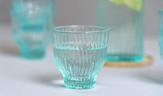 glas mint klein