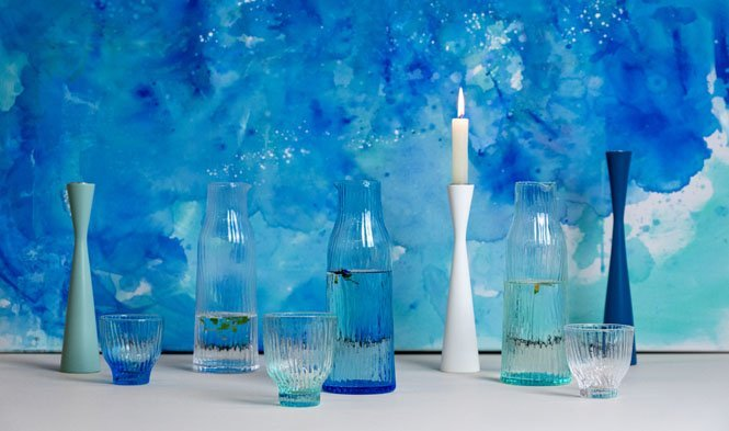 kandelaars en glas Air
