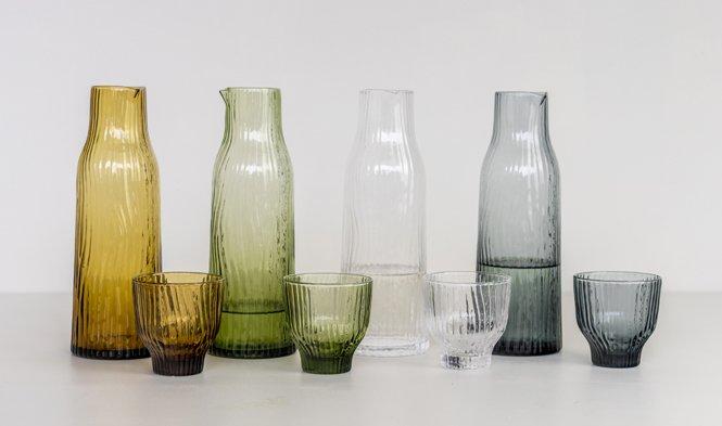karaf drinkglas mondgeblazen design