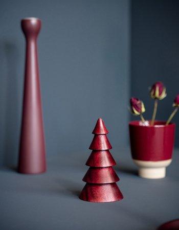kerstboompje red dye