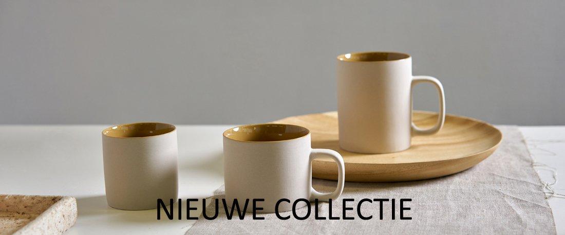 keramiek nieuwe collectie mustard