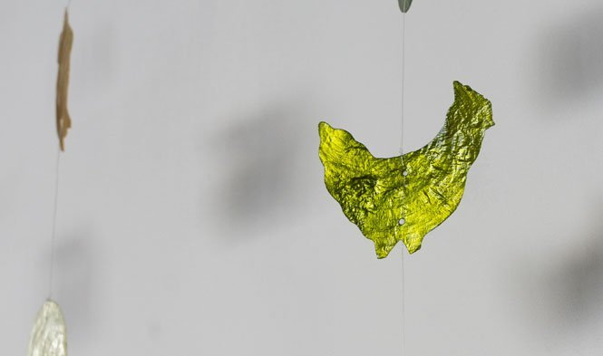 paasslinger capiz groen kip