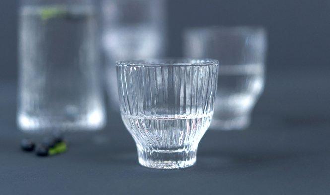 wijnglas mondgeblazen helder glas
